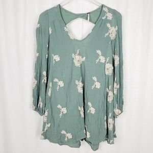 Free People Austin Floral Dress